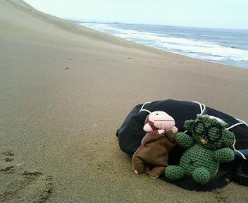 鳥取砂丘にて♪
